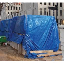 Bâche de protection 100 gr/m² 6x8