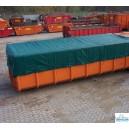 Bâche benne et container 550 gr/m²
